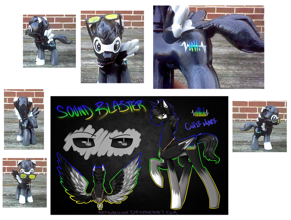 Sound Blaster Pony by Atomic52