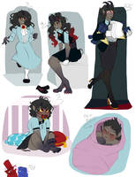 Lulus Outfits And Ages by Atomic52