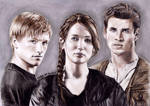 The Hunger Games (Main Cast)