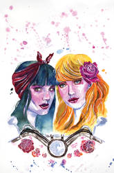 Betty and Veronica: Vixens, Variant Cover