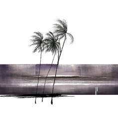 coconut trees by kenglye