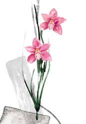 Floral fascination-Cymbidium by kenglye