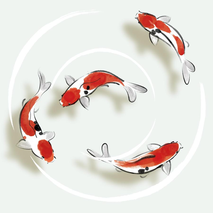 Japanese carp by kenglye on deviantart for Japanese carp fish