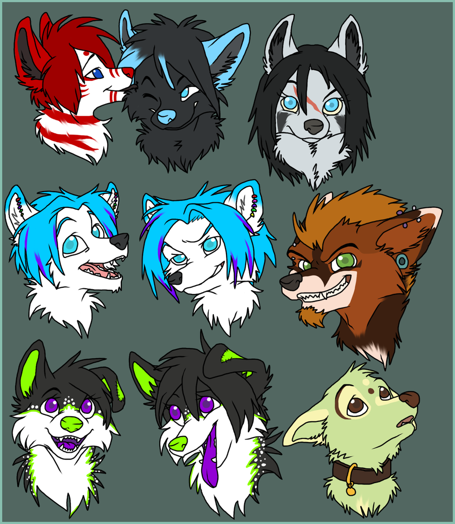 $3-$5 Headshots BATCH 2 by Captain-Squeak