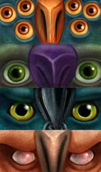 Troll Eyes by Skidar