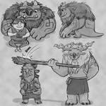 Trollhunter Stream Sketches