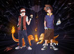 Pokemon and Digimon