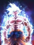 Goku ULRA INSTINCT MASTERED by Kuzomari