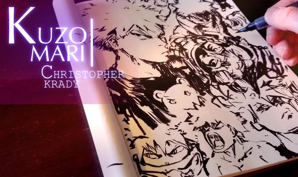 New Video Up! Inking Bakugou by Kuzomari