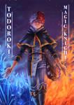 Todoroki Magic Knight Print! by Kuzomari