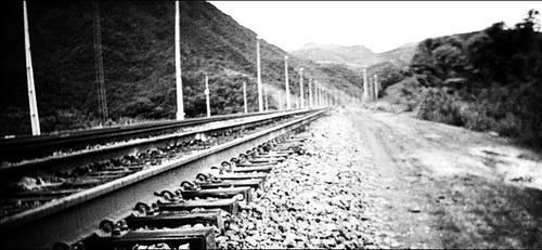 Road or Rails? .BW. by isnayper