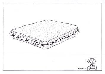 Gardenia: Sandwich