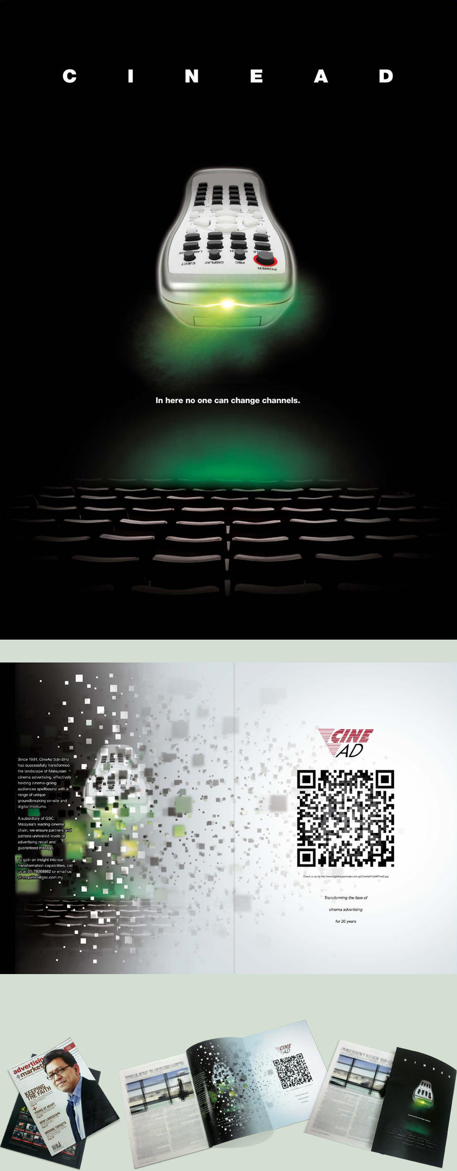 CineAd Corporate Branding by alvinpck
