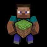 Steve with grass by blackoptics8
