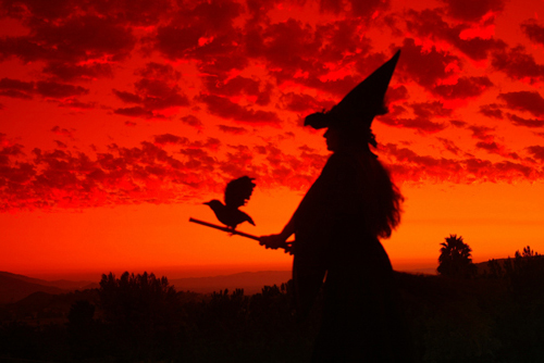 Witch Silhouette by primalx