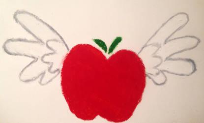 Applejack x Rainbow Dash OC cutiemark