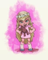 Little girl :) by margieeee