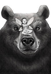 Bear + elf by margieeee