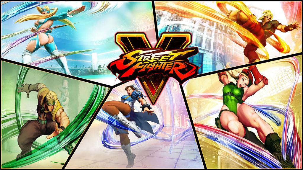 Street Fighter V Wallpaper by IzzyDew on DeviantArt