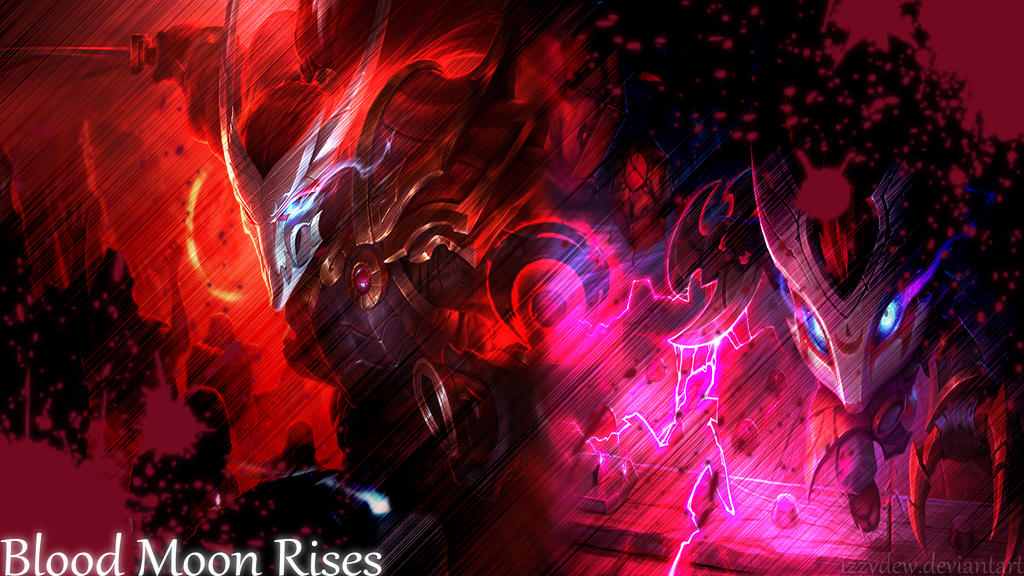 beast blood moon yasuo wallpaper - photo #14