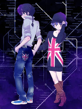 Ranma and Akane Fashion London