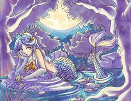 Selene: Mermaid Lagoon by lacuna-purify