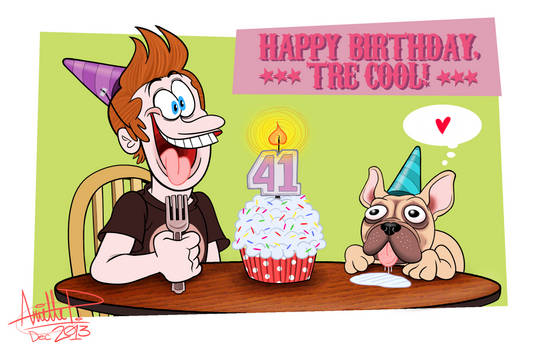 HAPPY 41ST, TRE COOL!