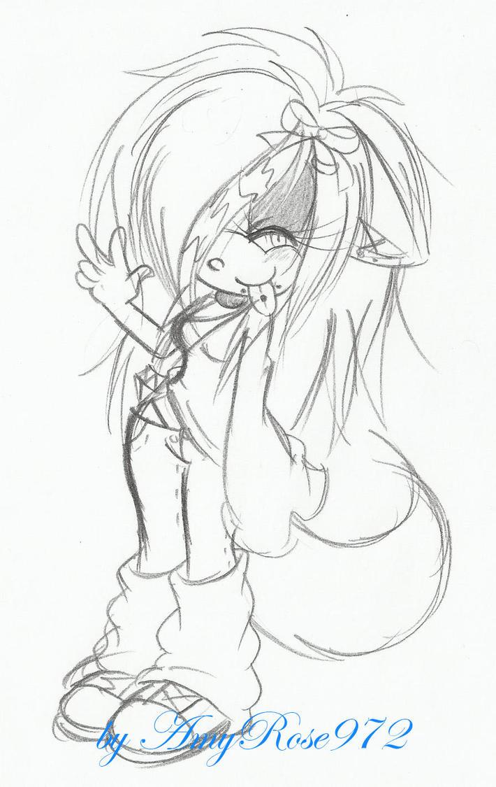 Carla :sketch: by LauryPinky972
