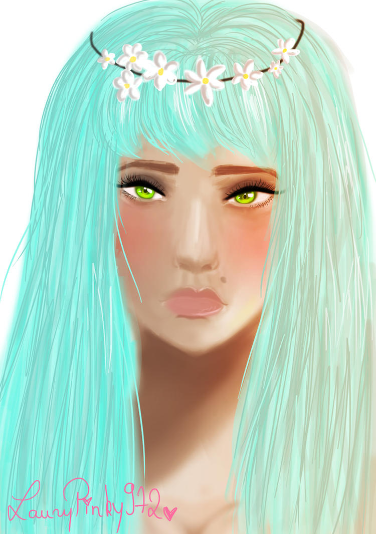 Digital Painting Practice: Lisa by LauryPinky972