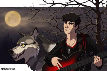 Base Playin' Werewolf