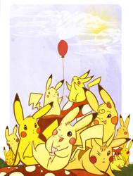 Pick a Peck a Pikachu
