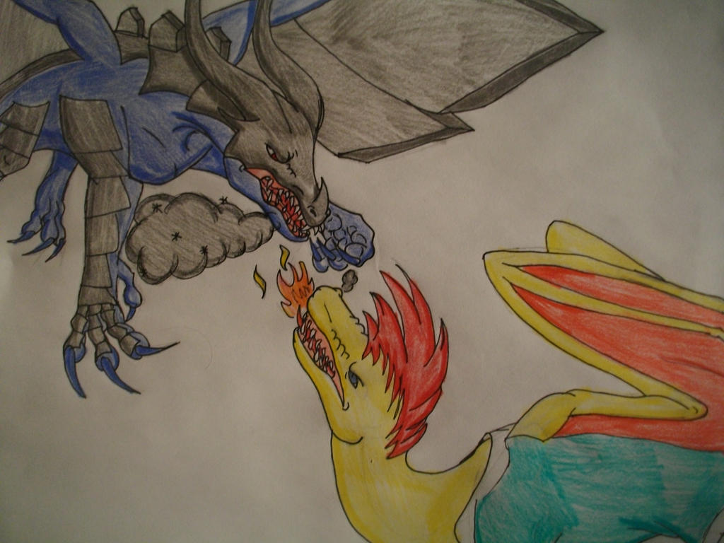 Dragon City Fight: Platinum VS Soccer By CrazyMangaka99 ...