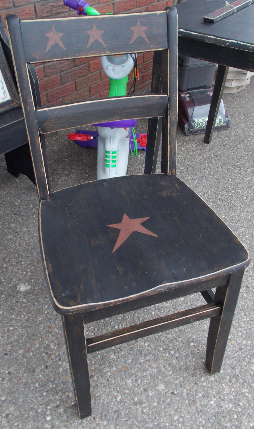 Primitive Chair By Friesianloverl2K Primitive Chair By Friesianloverl2K
