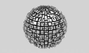 Metalic Modern Ball