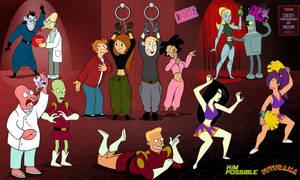 Kim Possible Futurama: Crazy crossover