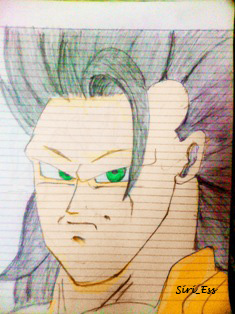 Goku Ssj3 Copy by SiriEss