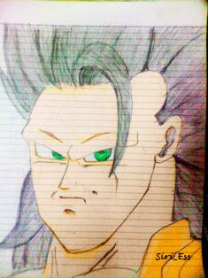 Goku Ssj3 Copy by SiriEss