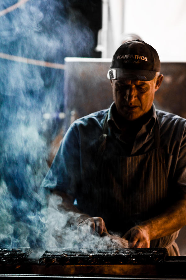 The kebab Man by drifterManifesto