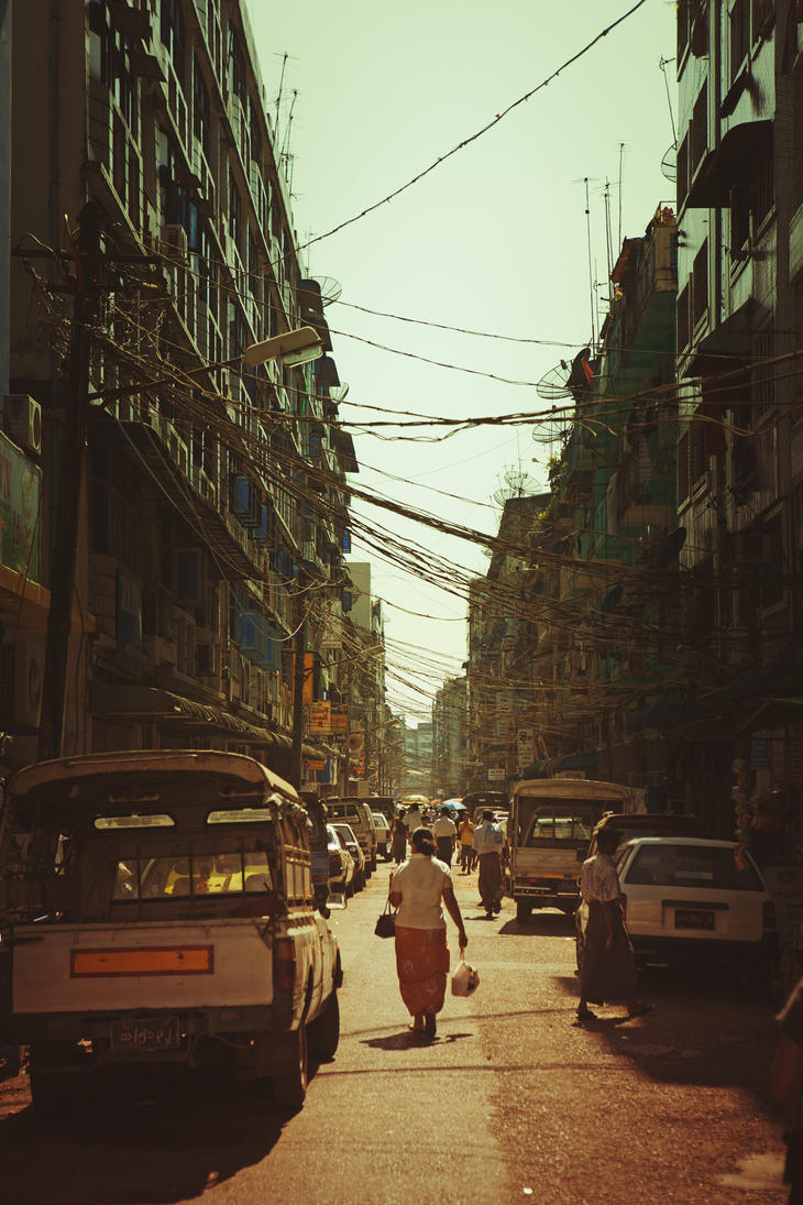 Rangoon Noon by drifterManifesto