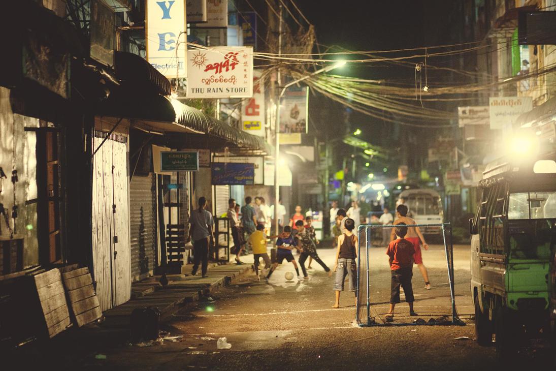 Street Soccer by drifterManifesto on DeviantArt