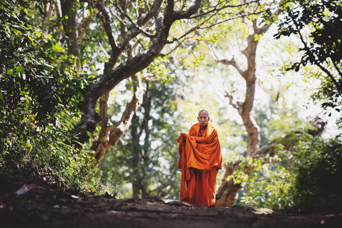 Laotian Monk by drifterManifesto