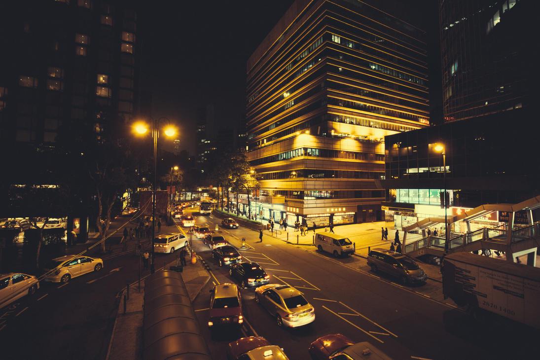 Hong Kong Yellow by drifterManifesto