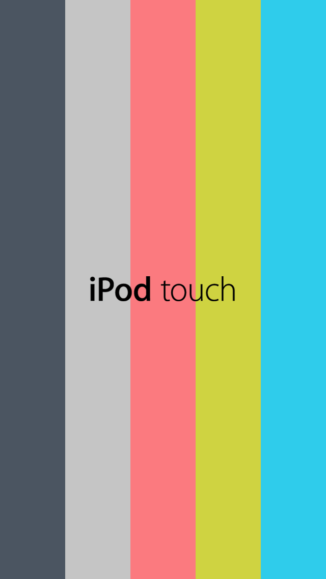 New IPod Touch 5th Generation 2012 Wallpaper By Design1076