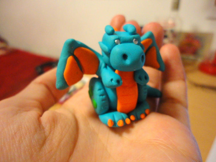 Clay Dragon by Lucky101212