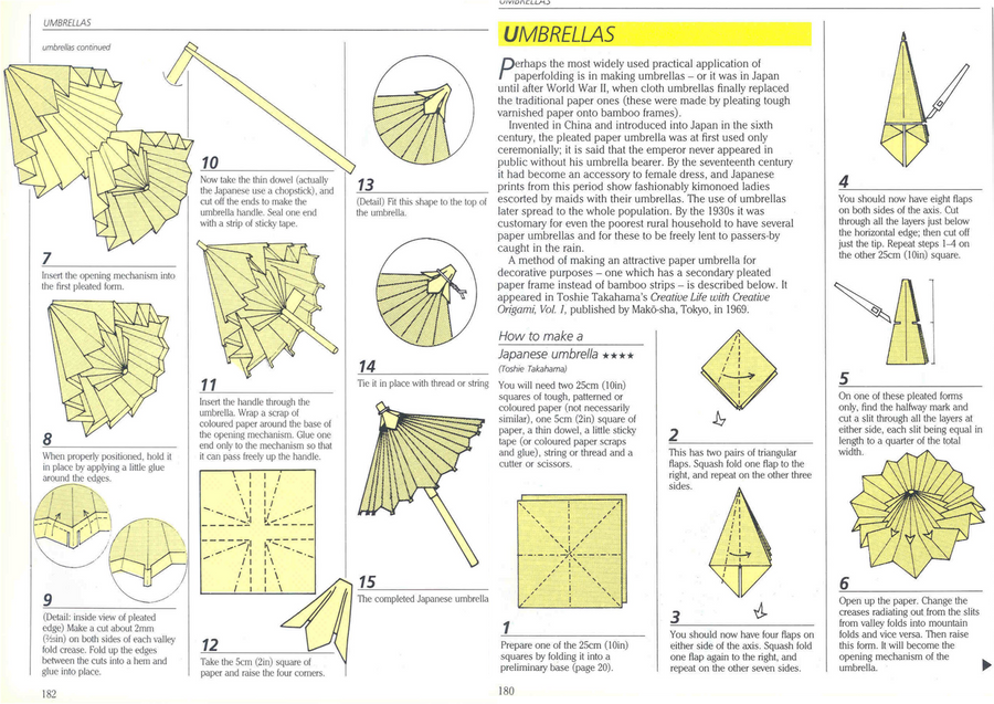 How To Make Origami Umbrella Choice Image Instructions