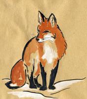 fox 2 by littlelionpaw