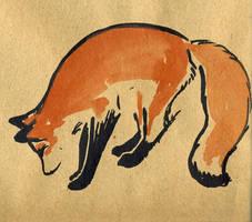 fox 3 by littlelionpaw