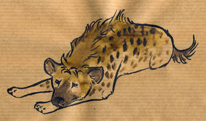 hyena2 by littlelionpaw