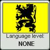 Flemish language level: None by Andromeva