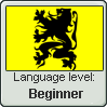 Flemish language level: Beginner by Andromeva